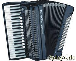 Weltmeister Piano Akkordeon Sa... #12848