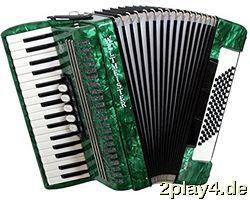 Weltmeister Piano Akkordeon Ac... #11099