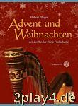 Advent und Weihnachten mit der Tiroler Harfe (Volksharfe) in... #78131