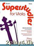 Mary Cohen: Superstudies For Viola Book 1. Für Bratsche... #40217