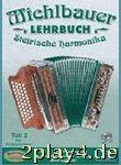 Lehrbuch Steirische 3 Harmonika. Handharmonika