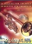 20 Duette Fuer Trompete. Trompete