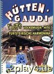 Huettengaudi 1 - Flotte Harmonika Hits - Arrangiert...