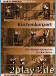 Kirchenkonzert 1 Für Posaunenchor (4 Spielpartituren) ...