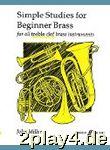 John Miller: Simple Studies For Beginner Brass. Für ...