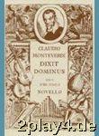Claudio Monteverdi: Dixit Dominus. Für Satb ...