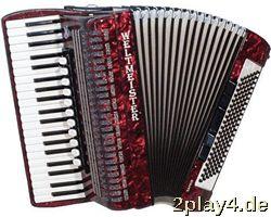 Weltmeister Piano Akkordeon Sa... #51333