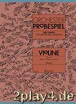 Orchester-Probespiel Violine: Sammlung wichtiger Passagen au... #63312