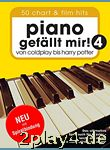 Piano gefällt mir! 50 Chart und Film Hits - Band 4. Von Col... #74578