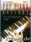 Pop Piano Ballads mit 2 Playback-CDs... #12248