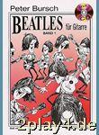 Peter Bursch Beatles für Gitarre, Bd.1, mit CD... #87415