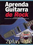 Aprenda Guitarra De Rock. Für Gitarre... #54584