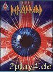 Def Leppard: The Best Of.... Für Gitarrentabulatur, Gitarre... #30064