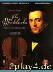 Music Minus One - Felix Mendelssohn: Violin Concerto In E Mi... #46651