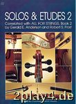 Solos and Etudes 2 : for viola correlated with all for strin... #32124