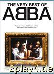 The Very Best of ABBA - Noten Songbook Klavier, Gesang & Git... #94527