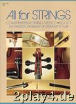 All For Strings Book 1 String Bass. Für Ensemble, Streichen... #14919