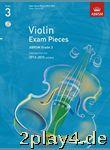 ABRSM: Selected Violin Exam Pieces - Grade 3 Book/CD (2012-2... #40822