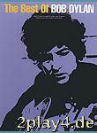 The Best Of Bob Dylan. Für Klavier, Gesang & Gitarre(mit Gr... #69834
