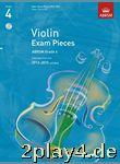 ABRSM: Selected Violin Exam Pieces - Grade 4 Book/CD (2012-2... #30318