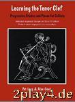 Learning The Tenor Clef (Cello). Für Cello, Klavierbegleitu... #60342