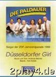 Duesseldorfer Girl. Akkordeon, Keyboard