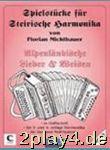 Spielheft 12 Alpenländische Volkslieder + Weisen....