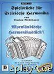 SPIELHEFT 10 ALPENLÄNDISCHE HARMONIKA STUECKL